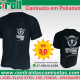 Camiseta crepe poliamida